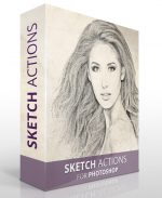 Sketch Photoshop Actions