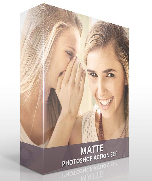 Matte Photoshop Actions
