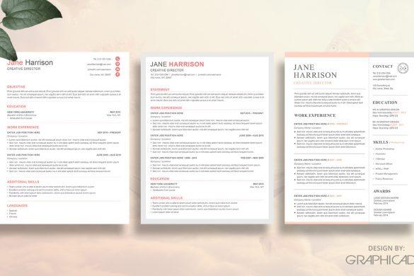 Etsy resume templates
