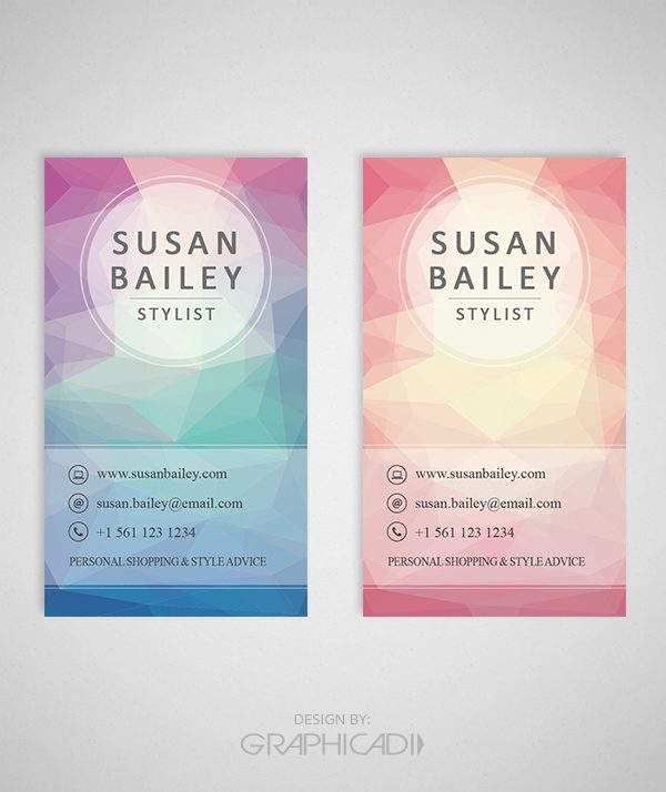Business Card Template 02 - 2 Color Options