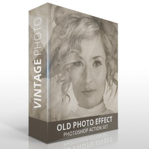 Old photo effect for Photoshop