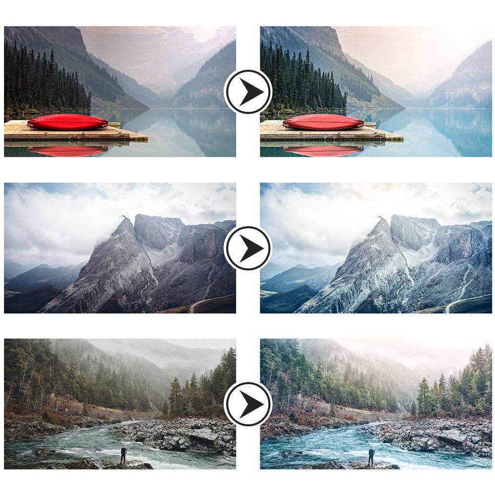 Landscape Lightroom Presets Preview