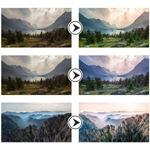 Landscape Lightroom Presets Preview