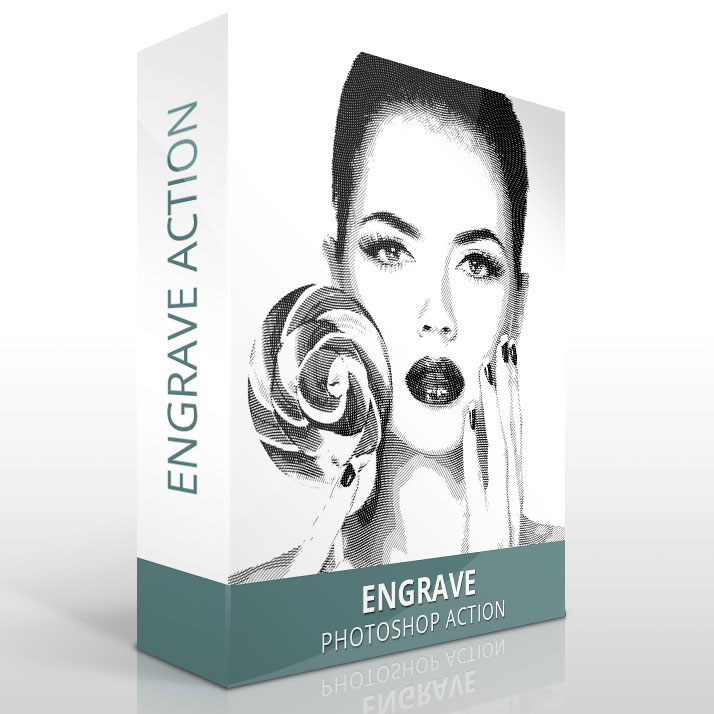Engrave Photoshop Actions