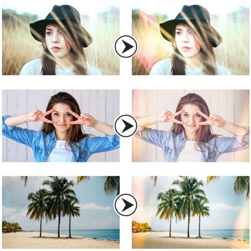 Light leak presets preview