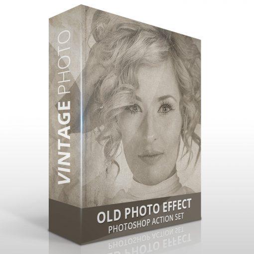Vintage photo effect