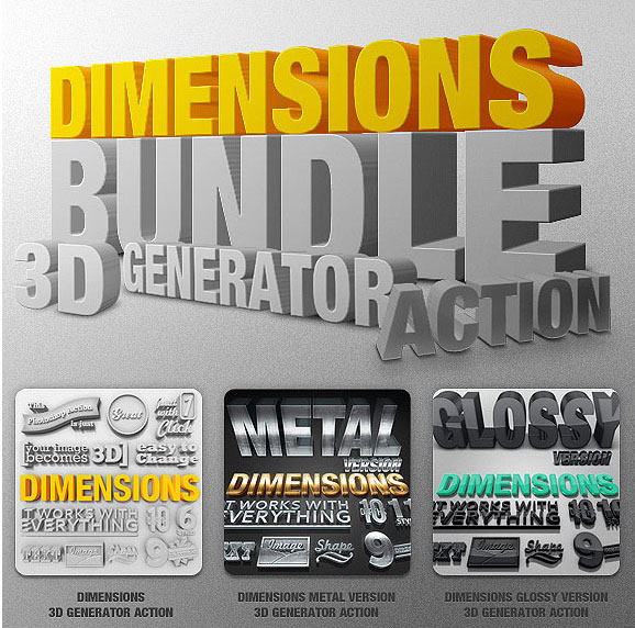 3D Generator Action