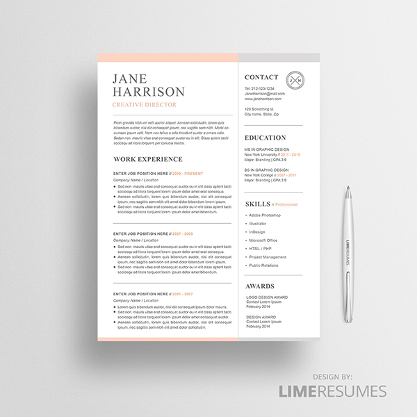 How To Design An Eye Catching Resume Graphicadi