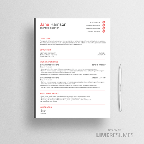 The Best Way To Clarify Your Resume Is To Divide Your Information Into  Columns And Sections And Use Clear Stand Out Headings.  Eye Catching Resumes