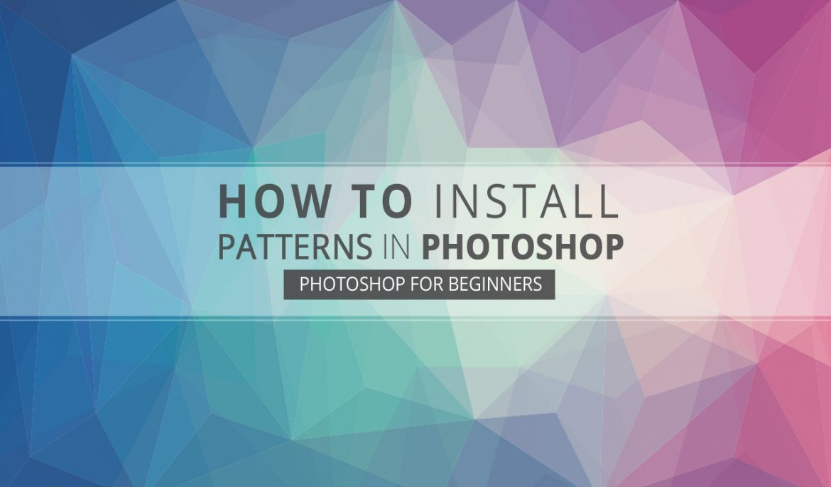 How to Install Patterns in Photoshop - Graphicadi