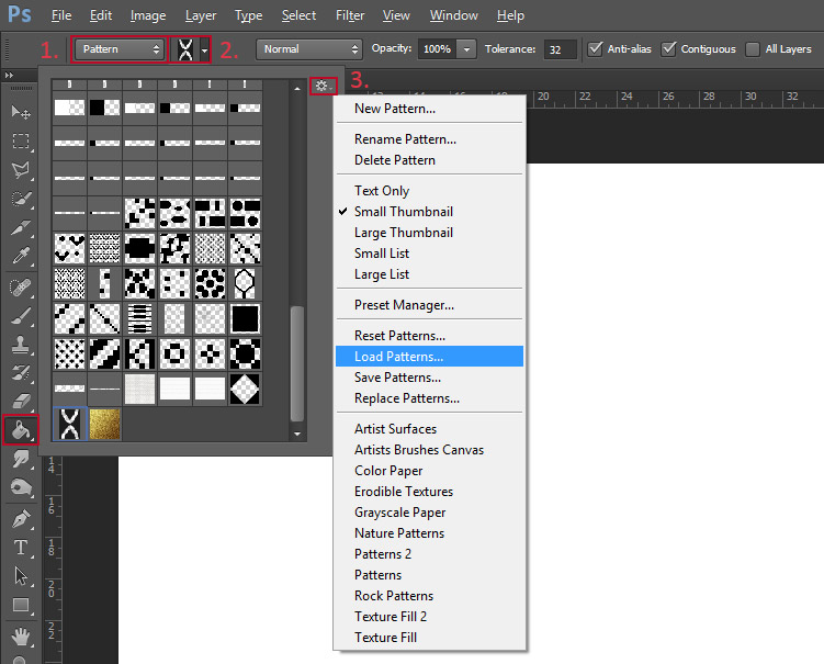 How To Use Paint Bucket In Photoshop Cs