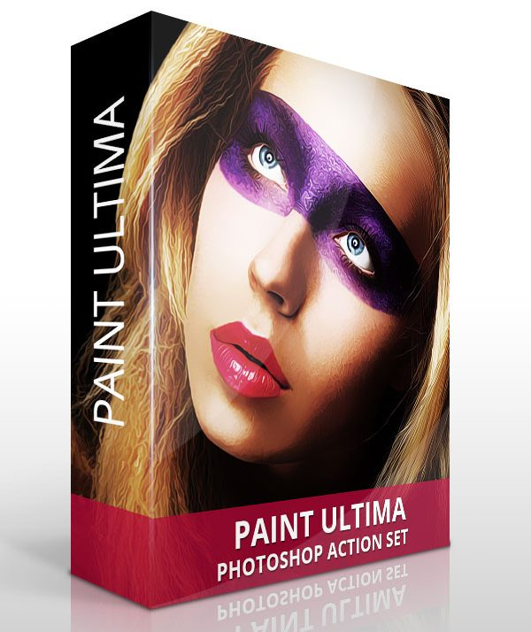 Paint Photoshop Actions