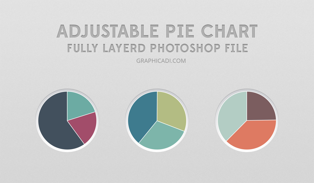 How to create adjustable pie chart in photoshop graphicadi nvjuhfo Gallery
