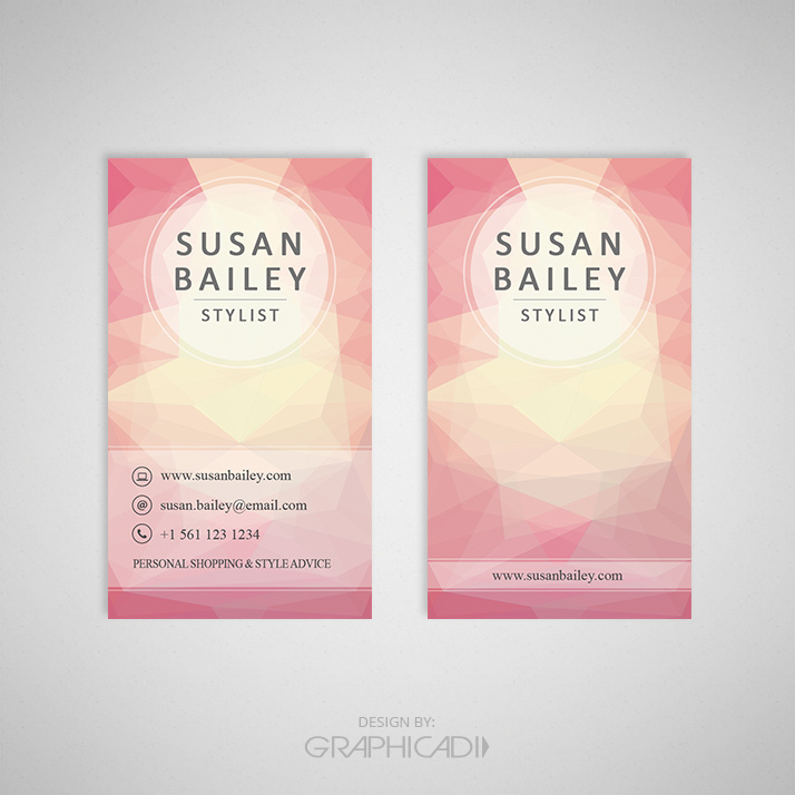business card template 02 graphicadi