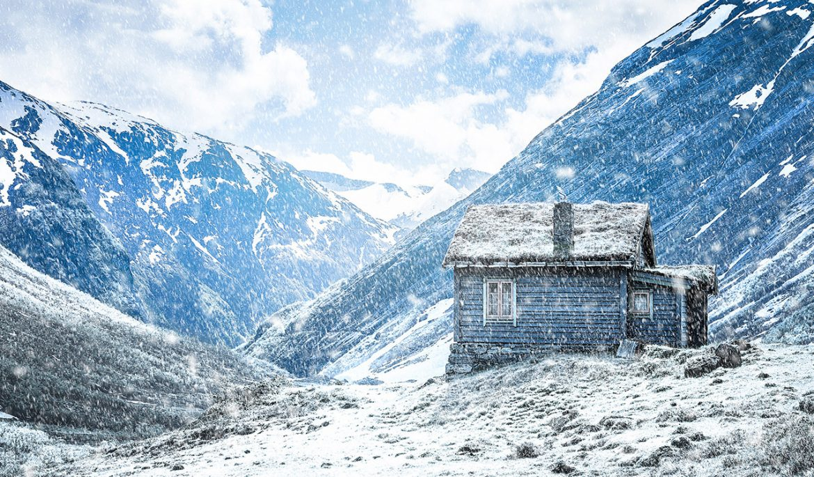 How To Create A Winter Scene In Photoshop Graphicadi