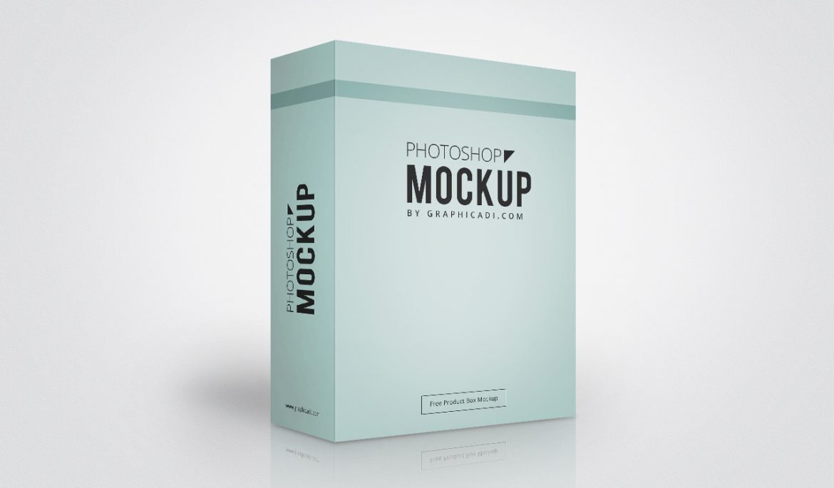 Product Box Mockup For Photoshop Free Box Mockup