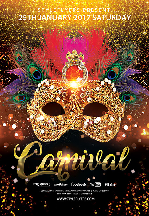 15 free and premium carnival flyers