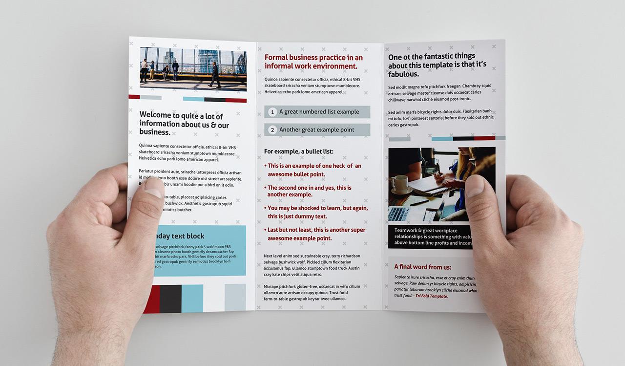 free trifold brochure template for photoshop illustrator graphicadi. Black Bedroom Furniture Sets. Home Design Ideas
