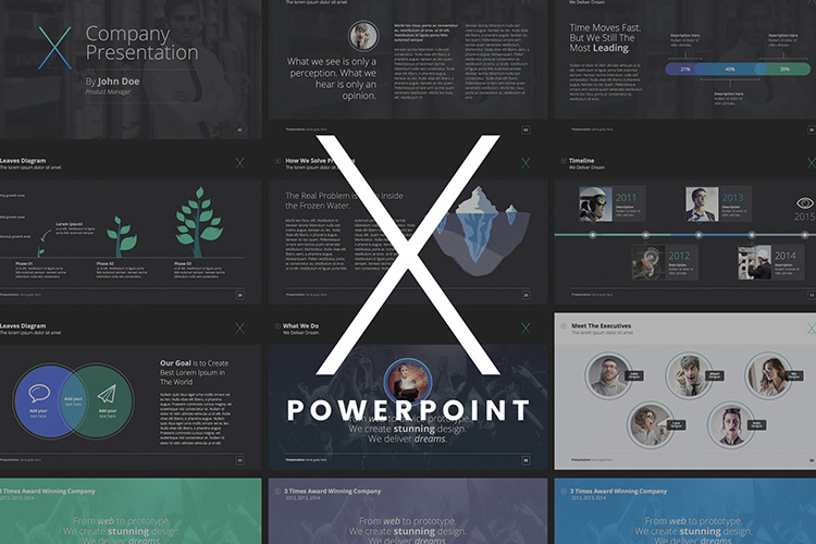 X-note presentation template