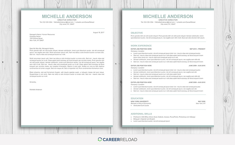 Simple Word resume