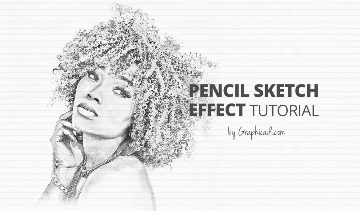 Pencil sketch effect