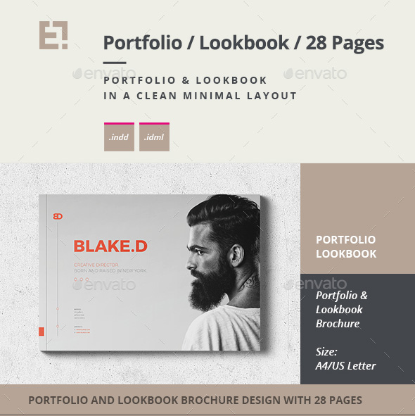 PDF portfolio lookbook