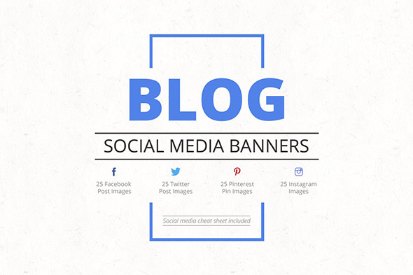 social media banners