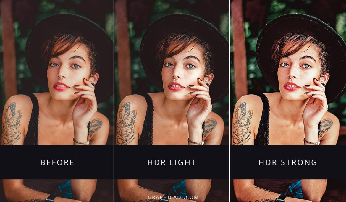 Free HDR actions